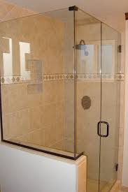 Seamless Glass Shower Door Interior Frameless Doors Lovable Seamless Glass Shower Ladera
