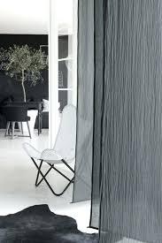 Grey Sheer Curtains Height Gray Sheer Curtain In Navone Flat
