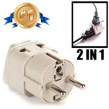 amazon com orei european plug adapter set works in albania