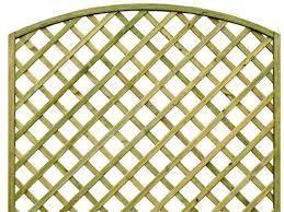 Curved Trellis Fence Panels Trellis Sky Fencing