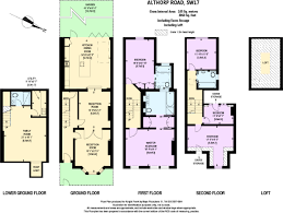 Althorp House Floor Plan 6 Bedroom Detached House For Sale In Althorp Road Wandsworth