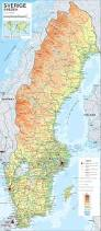 Geographical Map Of Europe by Maps Of Sweden Detailed Map Of Sweden In English Tourist Map