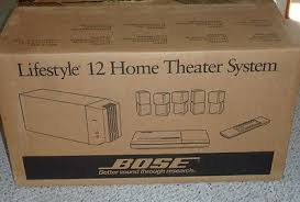 bose lifestyle 12 surround sound 5 1 system w cd player remote