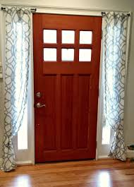 Curtains For Front Door Window Creative Of Door Window Panel Curtains Ideas With Amazing Idea