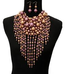 chunky pearl bib necklace images Featured products leading urban wholesale jewelry accessories jpg