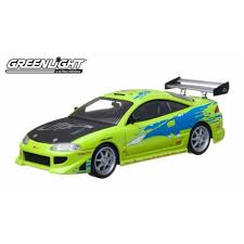 mitsubishi eclipse fast and furious 1995 mitsubishi eclipse fast furious passion diecast