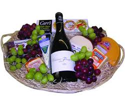 wine and cheese basket basket wine lrg jpg