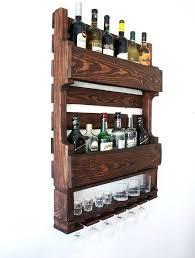 metal wine holder for wall wall mounted wine rack uk wine glass
