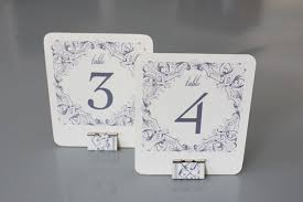 diy table numbers holders the budget savvy
