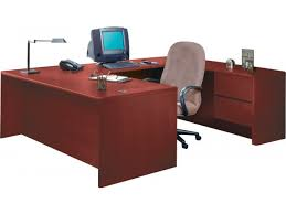 Hton Corner Desk Hon U Shaped Office Desk With Right Pedestal Credenza 3100r Regard