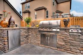 Outside Kitchen Design by Create A Crowd Pleasing Outdoor Kitchen