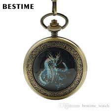 360 best shop vintage jewelry bestime antique bronze mechanical wind pocket