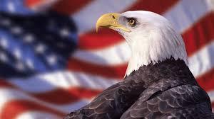 desktop american flag with eagle wallpaper