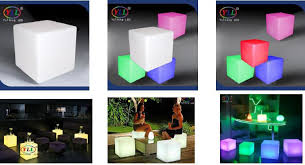light up cubes led light up cube table for club 3d animation vertical events