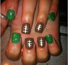 the 40 best images about football nails on pinterest nail arts