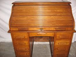 bureau americain bureau américain ancien à rideau en chène artisans du patrimoine