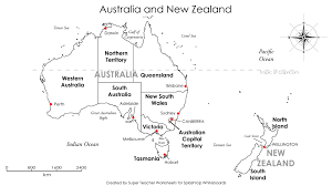 Blank Map Of Australia by Splashtop Whiteboard Background Graphics