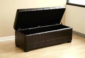 leather tray top ottoman fantastic ottoman with tray top brown ottoman with storage image of