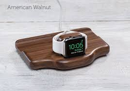 timber nightstand apple watch pad u0026 quill