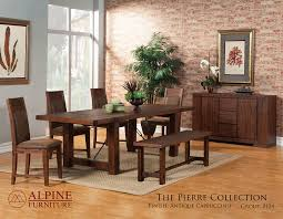 Dining Table Sets For 20 Dining U2014 Alpine Furniture