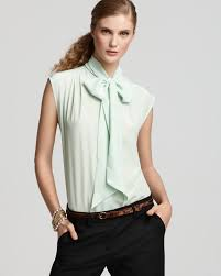 blouse with tie neck tie neck blouse how to tie sleeved blouse