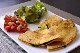 cuisine epinard quesadillas aux épinards et au chèvre ma cuisine santé