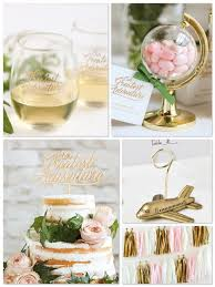 themed party supplies let the adventures begin travel themed party ideas