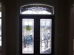 front door glass beveled glass front doors leaded stained glass entry inserts