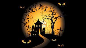 halloween bg halloween spooky digital art bats black background vector