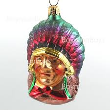 for sale radko ornament injun joe 931202 indian