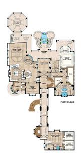 mediterranean style house plan 6 beds 6 00 baths 8364 sq ft plan