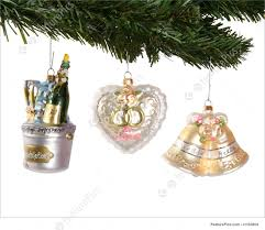 wedding christmas ornaments photo