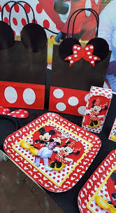 Mickey Mouse Chair Covers Minnie Mouse Party Supplies