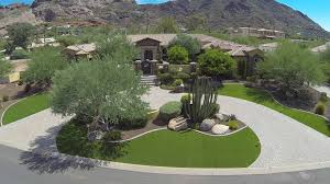 awesome backyard of a house in desert landscaping ideas for plants