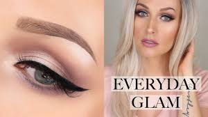 easy everyday glam makeup tutorial limecrime venus palette