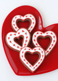 simple heart valentine u0027s cookies decorating how to u2013 glorious treats