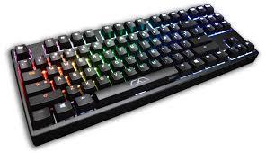 Keyboard Mechanical mk disco black abs keycaps rgb led tkl mechanical