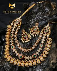gold plated silver necklace images Gold plated silver necklace from ms pink panther jpg