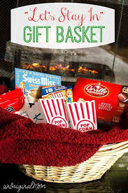 Movie Themed Gift Basket Let U0027s Stay In