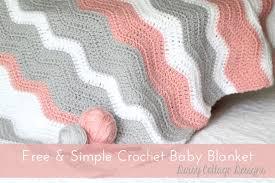 ripple blanket crochet pattern cottage designs