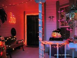 Decorating With String Lights Halloween Porch Decorating Ideas Both Spooky And Fun