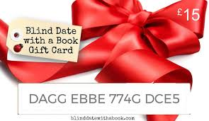 gift card book gift card blind date with a book