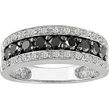 black diamond wedding band the precious black diamond wedding rings for women rikof