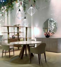 luxury contemporary italian lem with lazy susan table italian