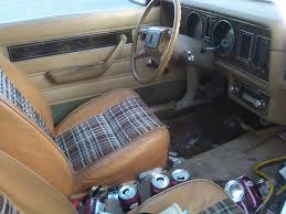 subaru station wagon interior plaid interiors a well worn 1980 ford fairmont futura cars