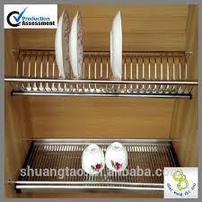 alibaba china kitchen cabinet dish shelf cabinet plate rack wall
