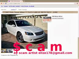 nissan altima for sale carfax craigslist scam ads detected on 02 21 2014 updated vehicle