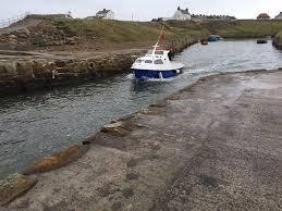 reduced 19 u0027 grp fishing boat with volvo penta inboard diesel