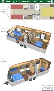 Small Rv Floor Plans Caravan Floor Plans Small House Pinterest Caravan Ideas
