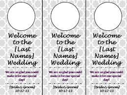 wedding door hangers weddingbee photo gallery